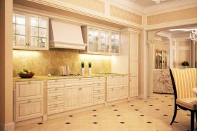 elegant-tiled-kitchen-flooring