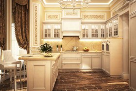elegant-tiled-upscale-kitchen
